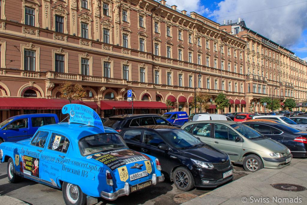 Zentrum in Sankt Petersburg