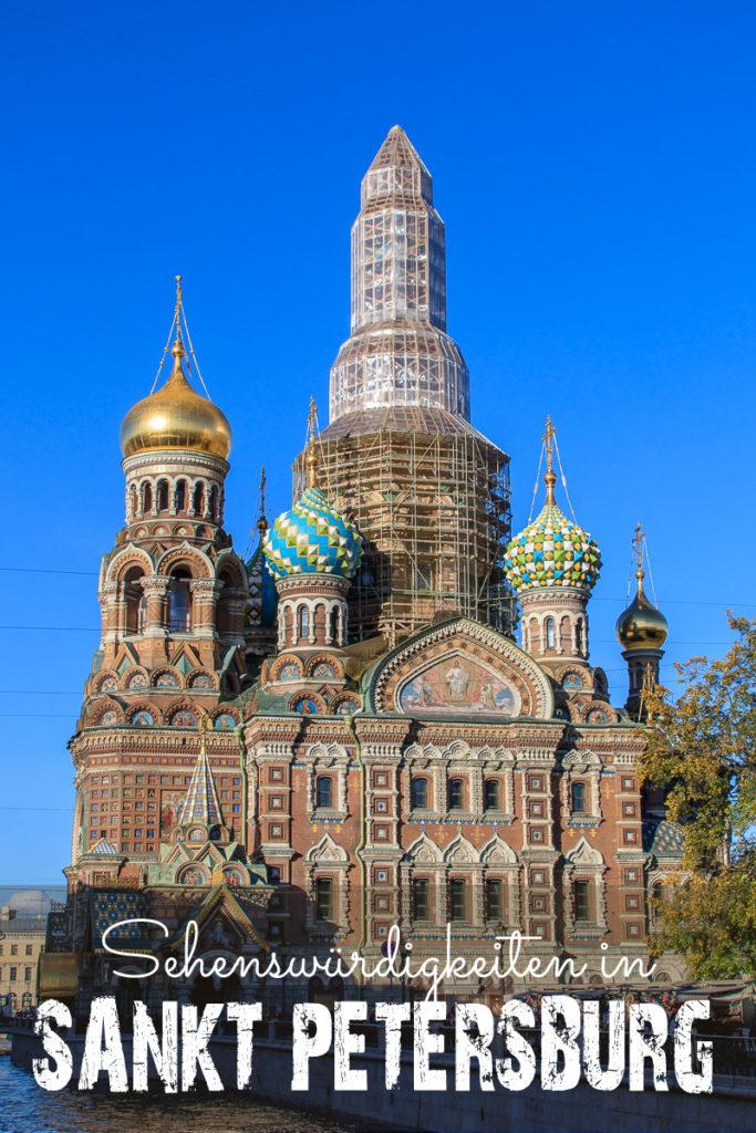 Sehenswürdigkeiten in Sankt Petersburg