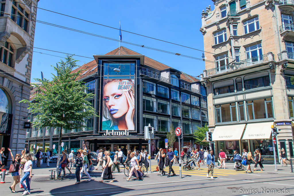 Sehenswürdigkeiten in Zürich Bahnhofstrasse