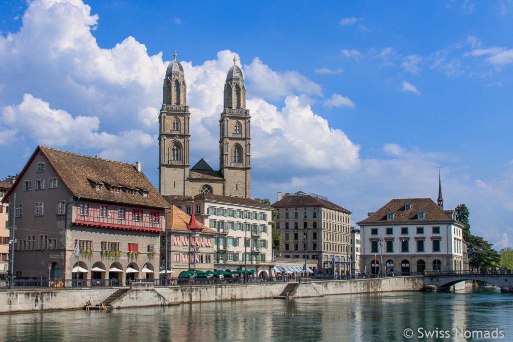 Sehenswürdigkeiten in Zürich Grossmünster