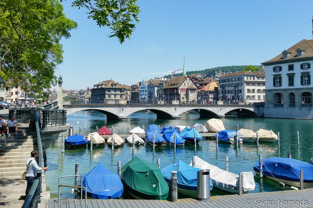 Sehenswürdigkeiten in Zürich Limmat