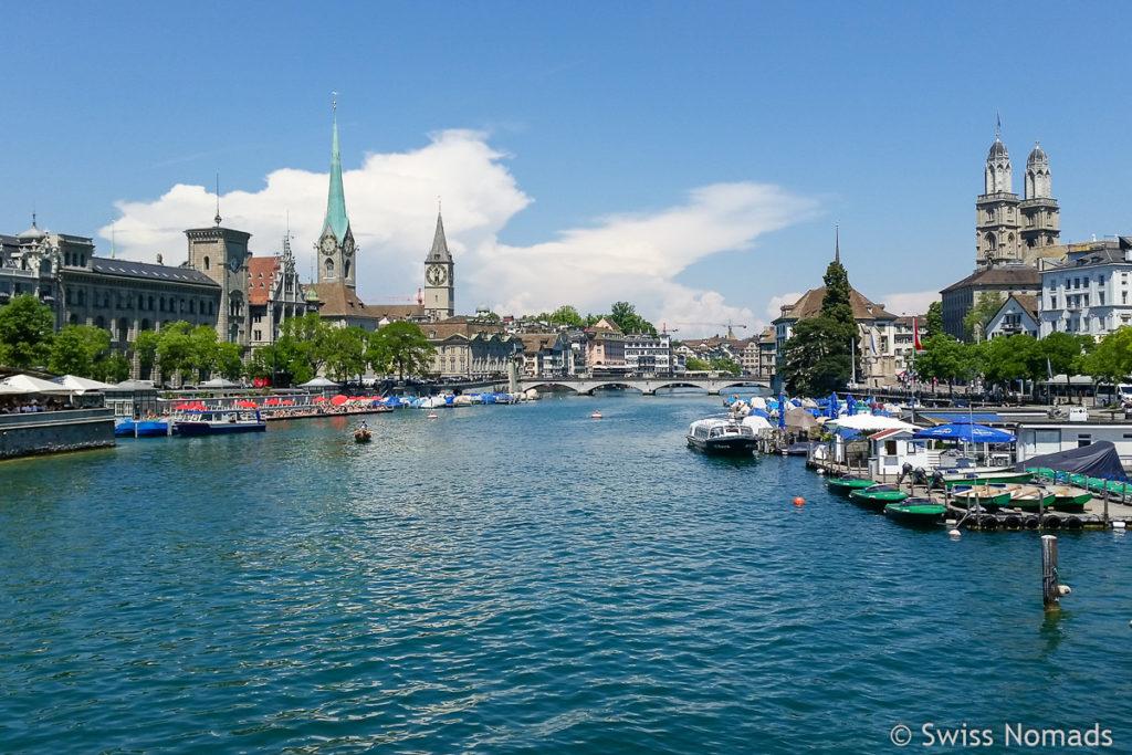 Sehenswürdigkeiten in Zürich Limmatquai