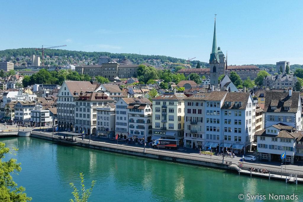 Sehenswürdigkeiten in Zürich Lindenhof