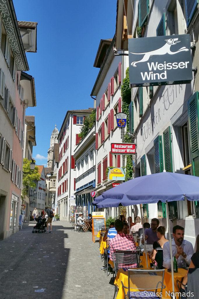 Sehenswürdigkeiten in Zürich Niederdorf