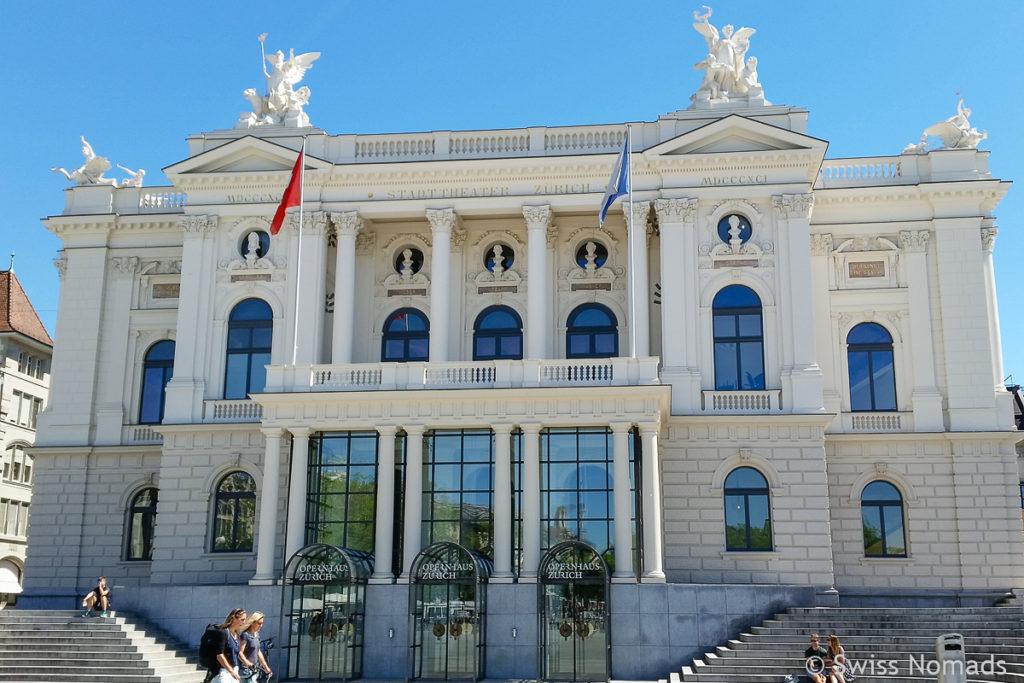 Sehenswürdigkeiten in Zürich Opernhaus