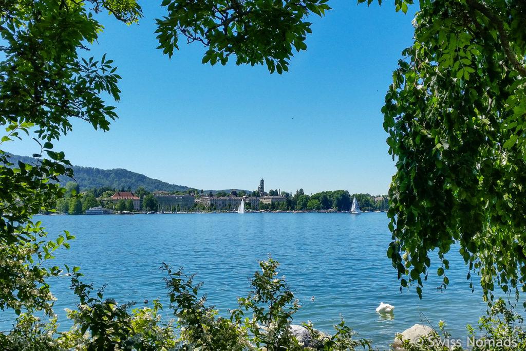 Sehenswürdigkeiten in Zürich Zürichsee
