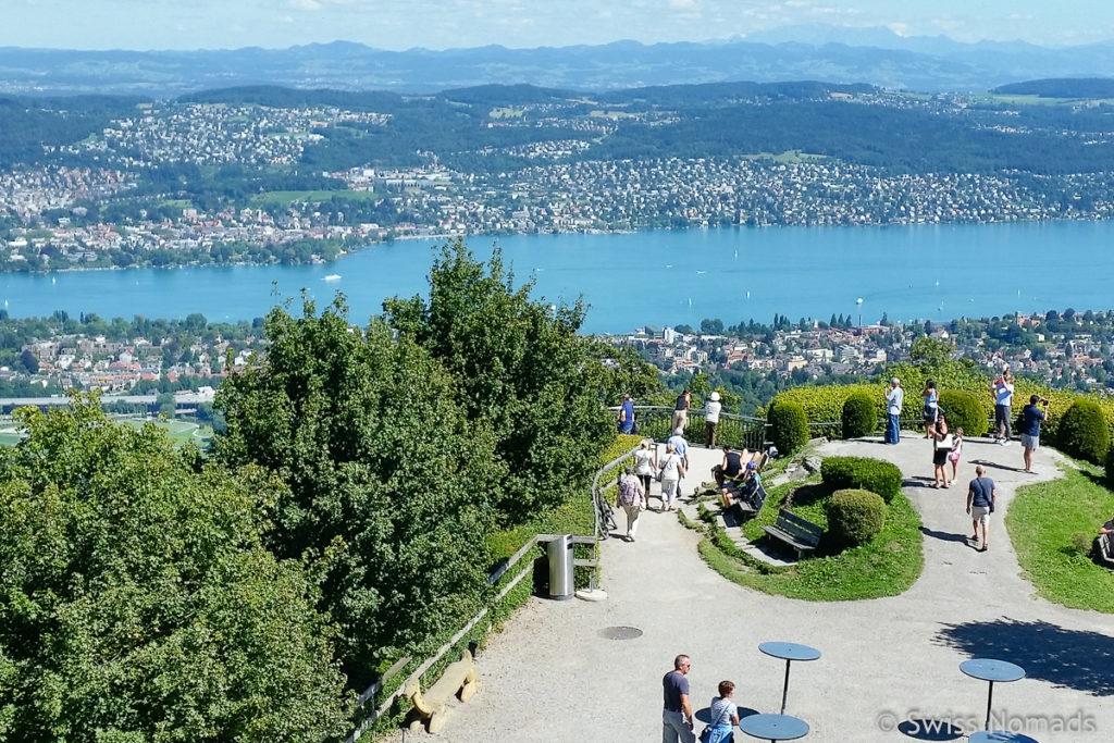 Sehenswürdigkeiten in Zürich Üetliberg