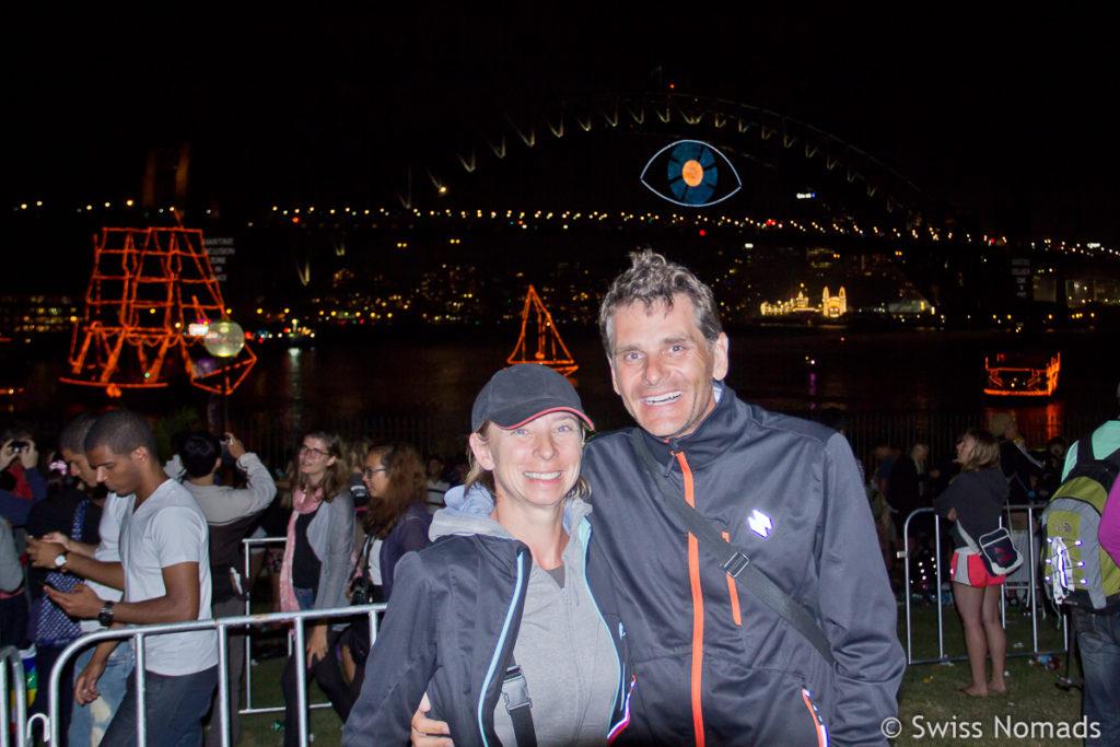 Silvester in Sydney Reni und Marcel Mitternacht