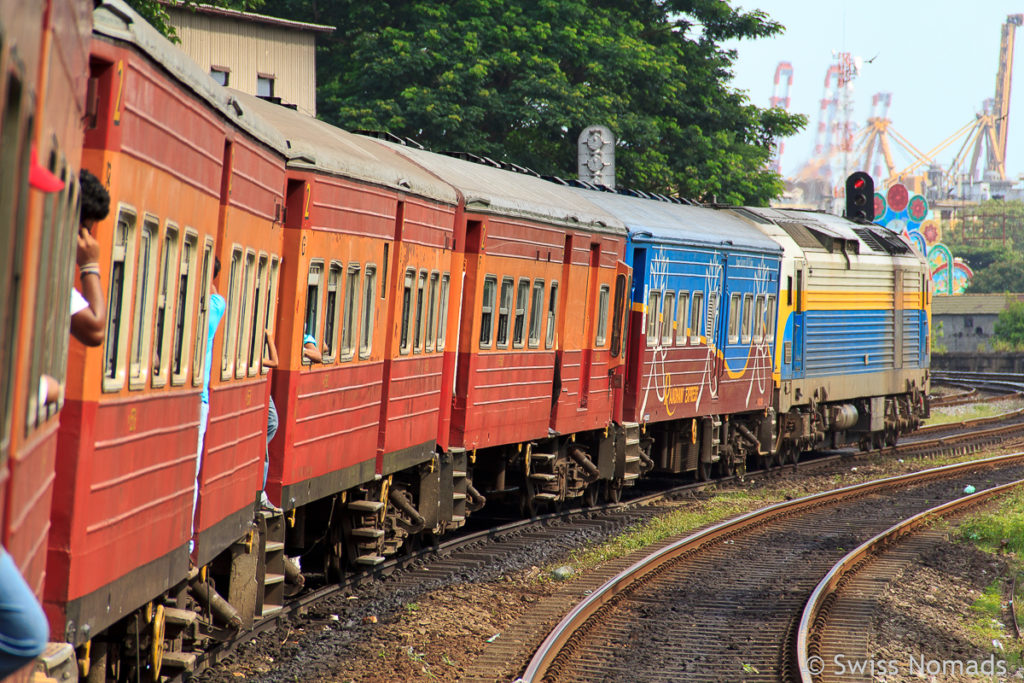 Sri Lanka Reisetipps Eisenbahn