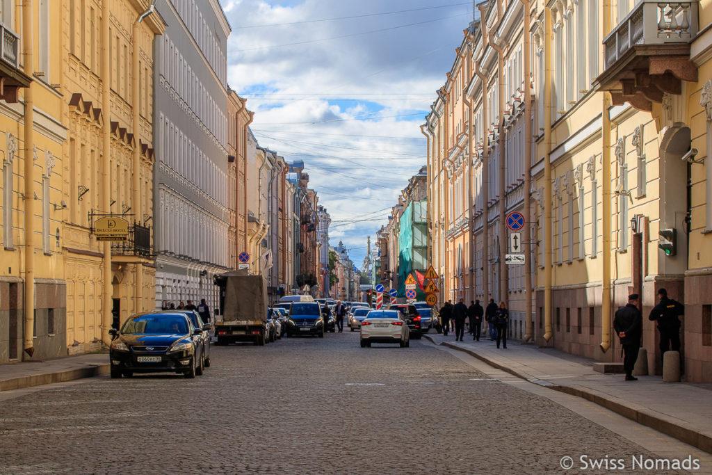 Strasse in Sankt Petersburg