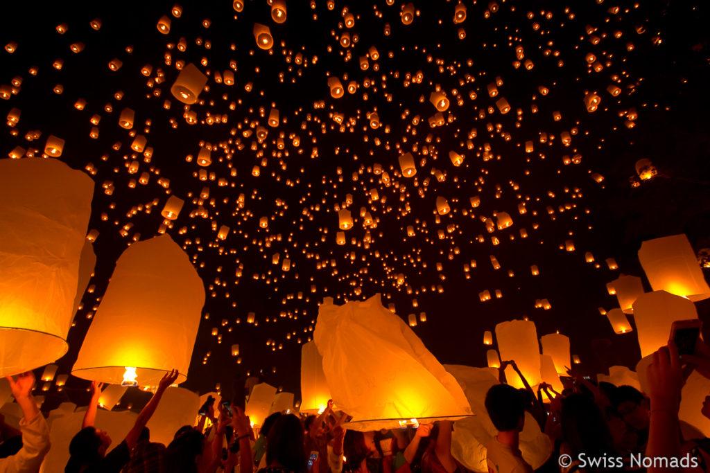 Thailand Reisetipps Loy Krathong Lichterfest