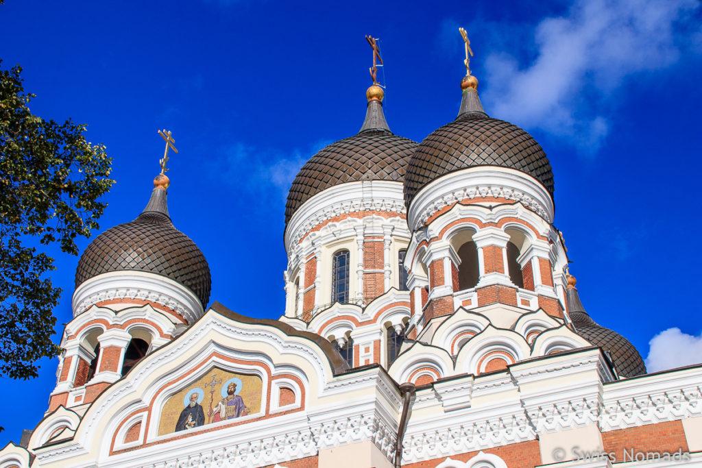 Alexander Newski Kathedrale in Tallinn