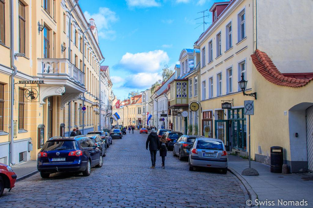 Altstadt in Tallinn Sehenswürdigkeiten