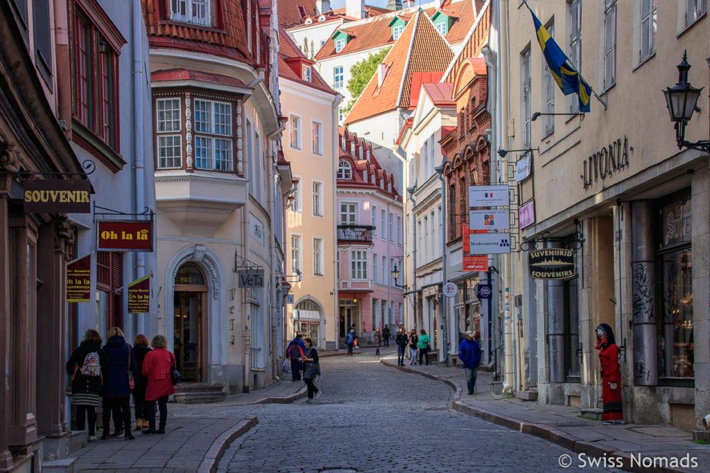Sehenswürdigkeiten in Tallinn Altstadt