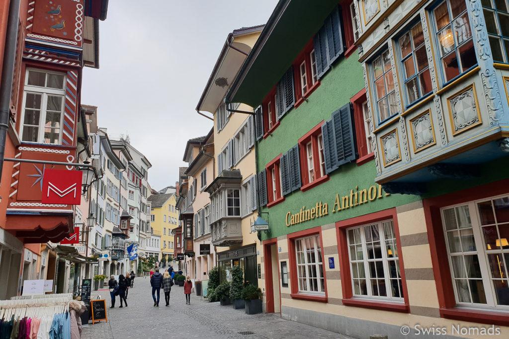 Augustiner Gasse in Zürich