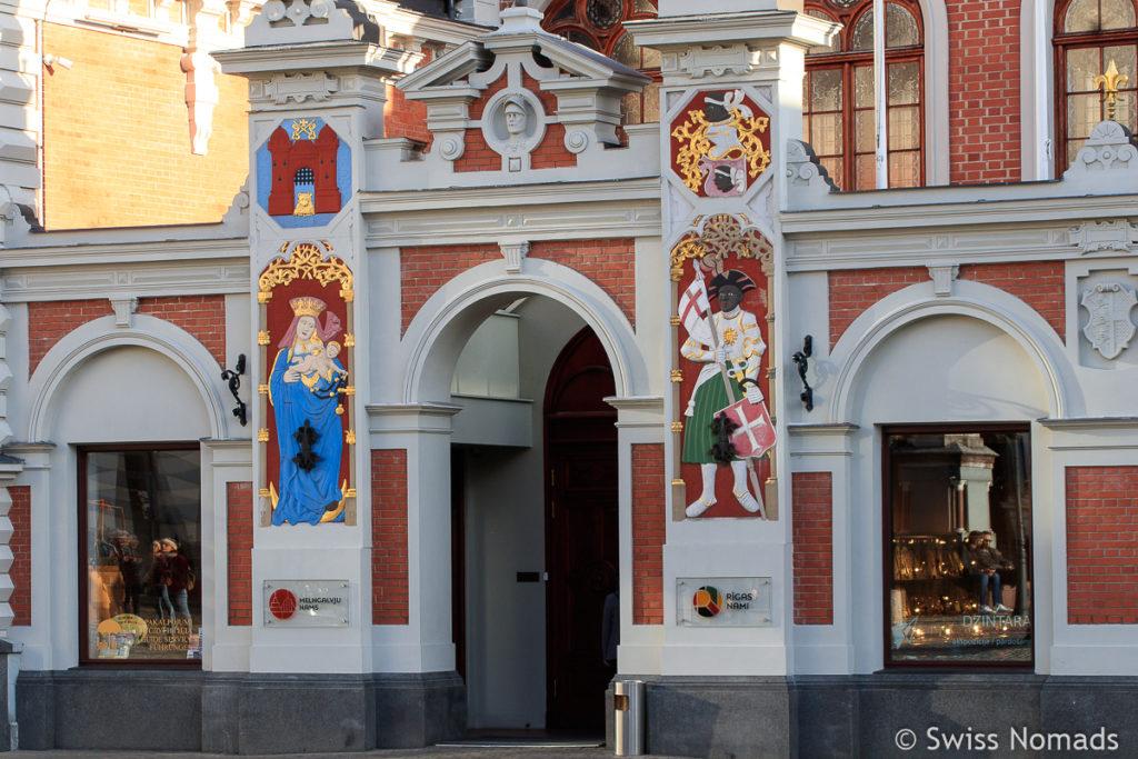 Schwarzhäupterhaus Sehenswürdigkeiten in Riga