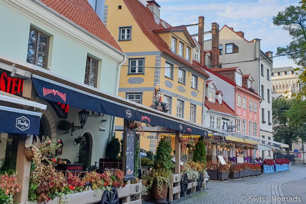 Livenplatz Sehenswürdigkeiten in Riga
