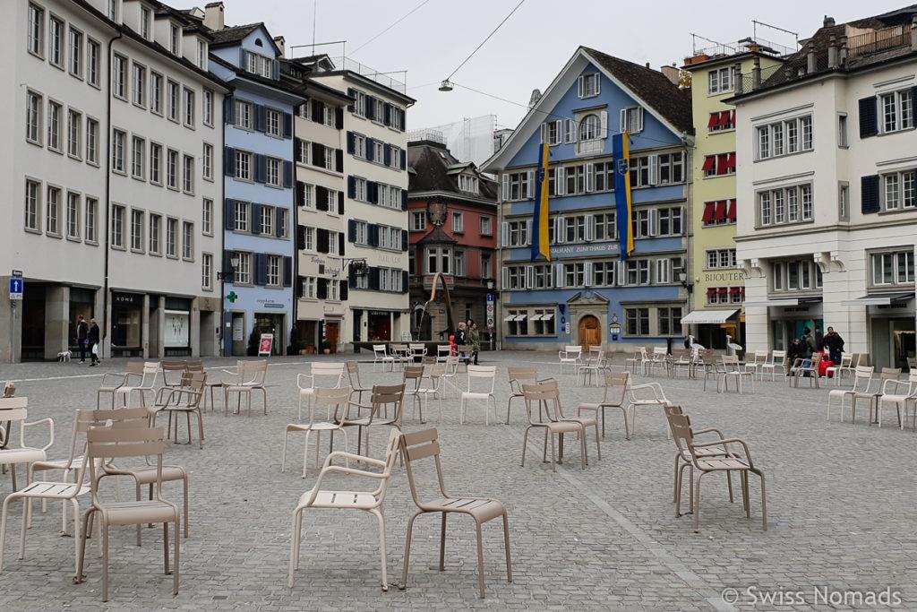 Münsterhof in Zürich Sehenswürdigkeiten