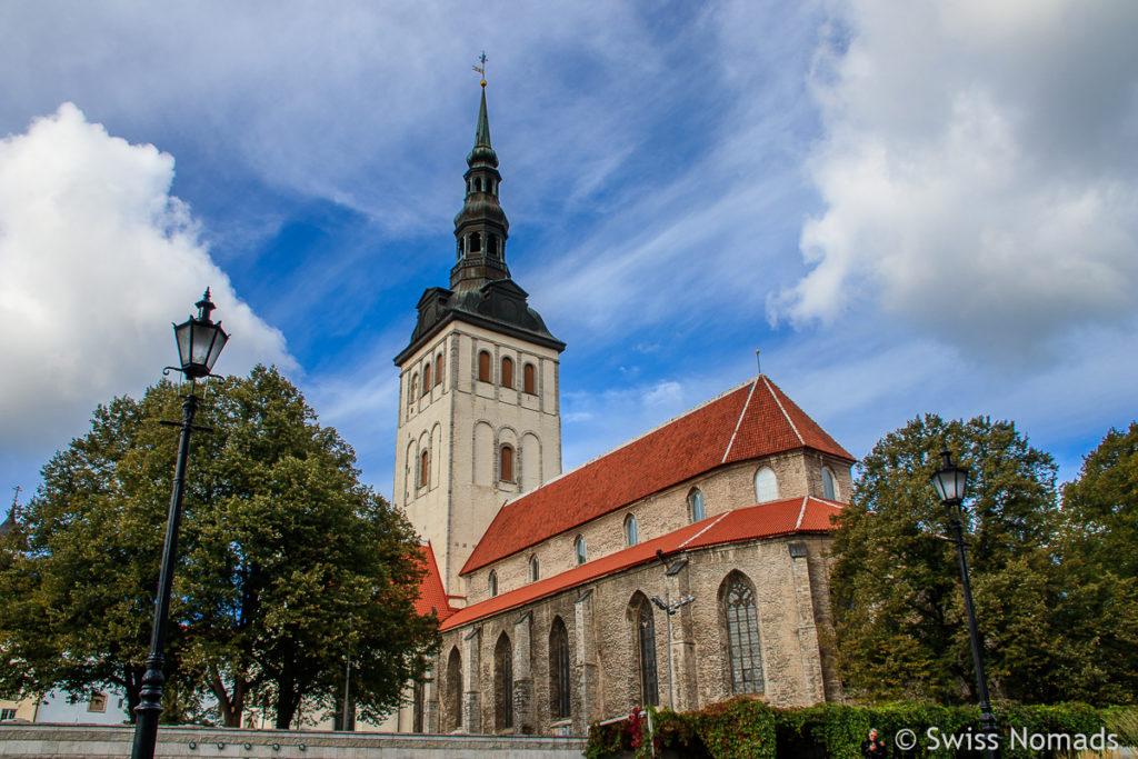 Nikolaikirche Tallinn Sehenswürdigkeiten