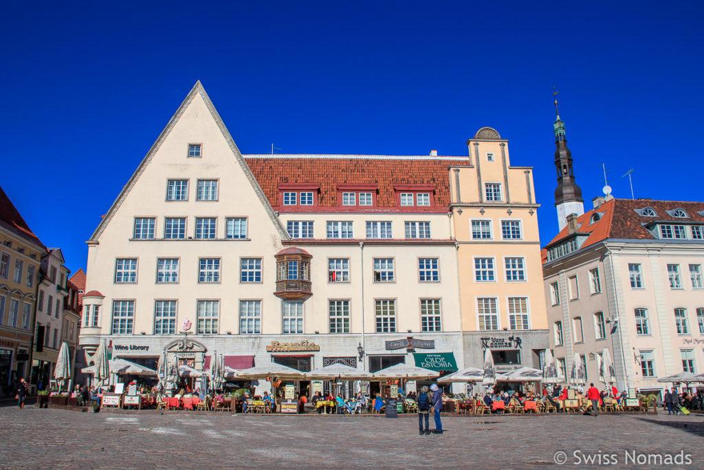 Rathausplatz Tallinn Sehenswürdigkeiten