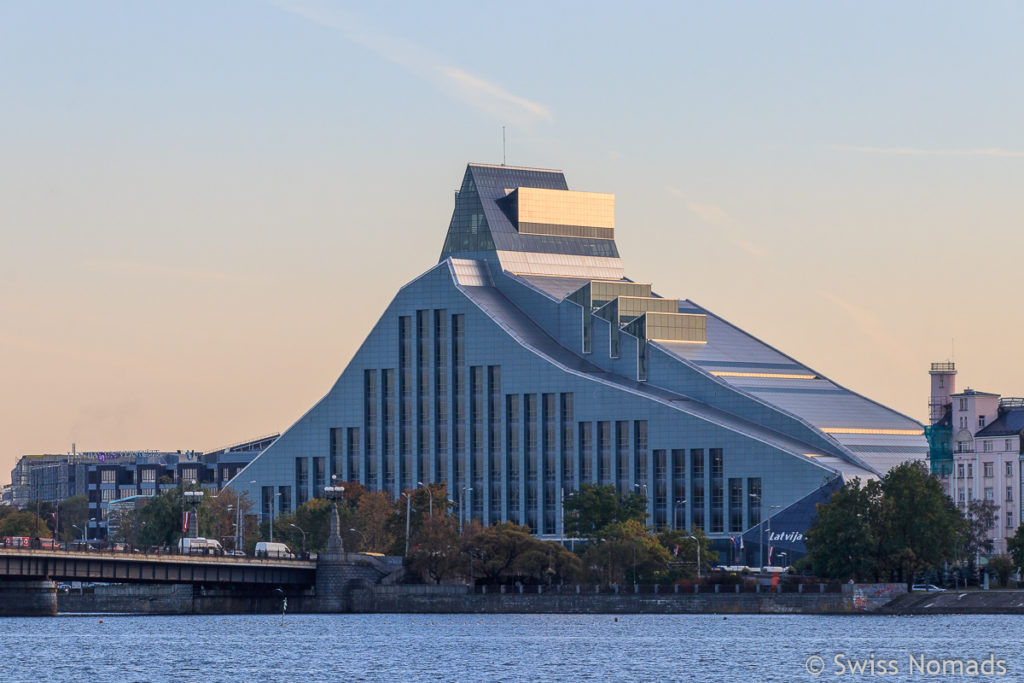 Lettische Nationalbibliothek in Riga