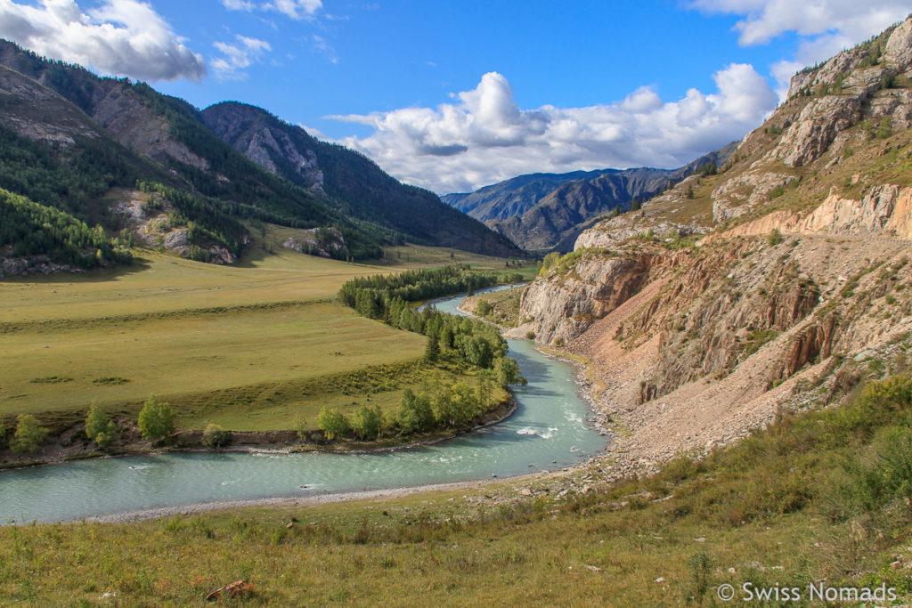 Altai Gebiet in Russland