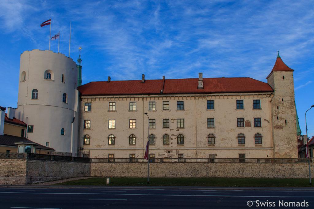 Rigaer Schloss Sehenswürdigkeiten in Riga