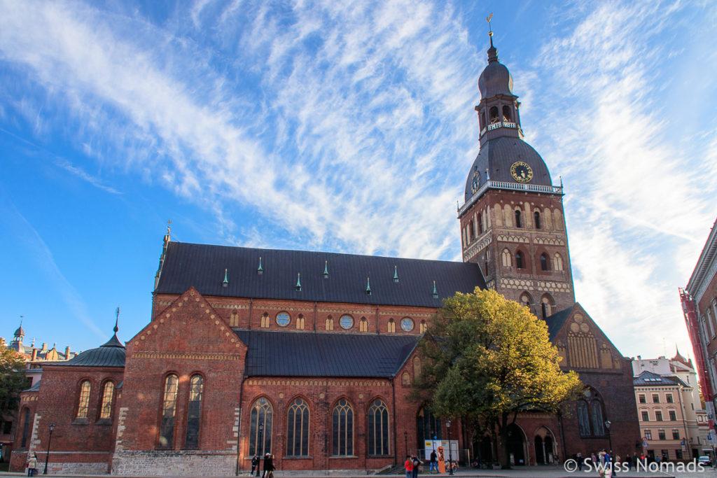 Domkirche Sehenswürdigkeiten in Riga