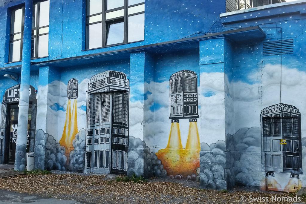 Sehenswürdigkeiten in Tallinn Telliskivi Creative City