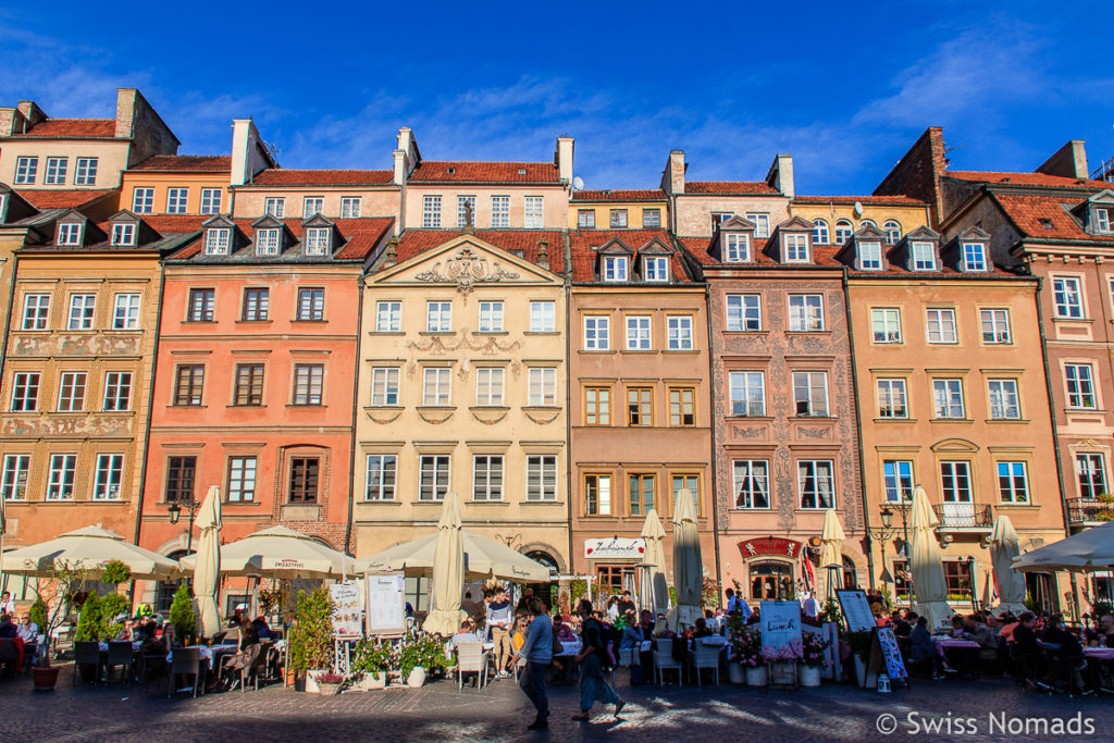Altmarktplatz in Warschau