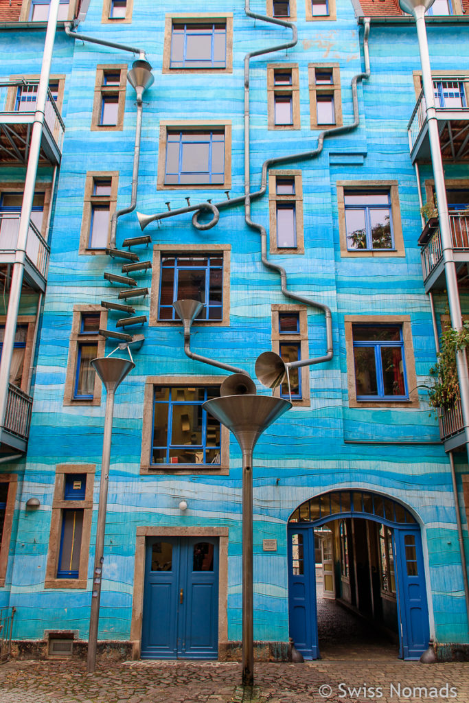 Fassade in der Kunsthofpassage in Dresden