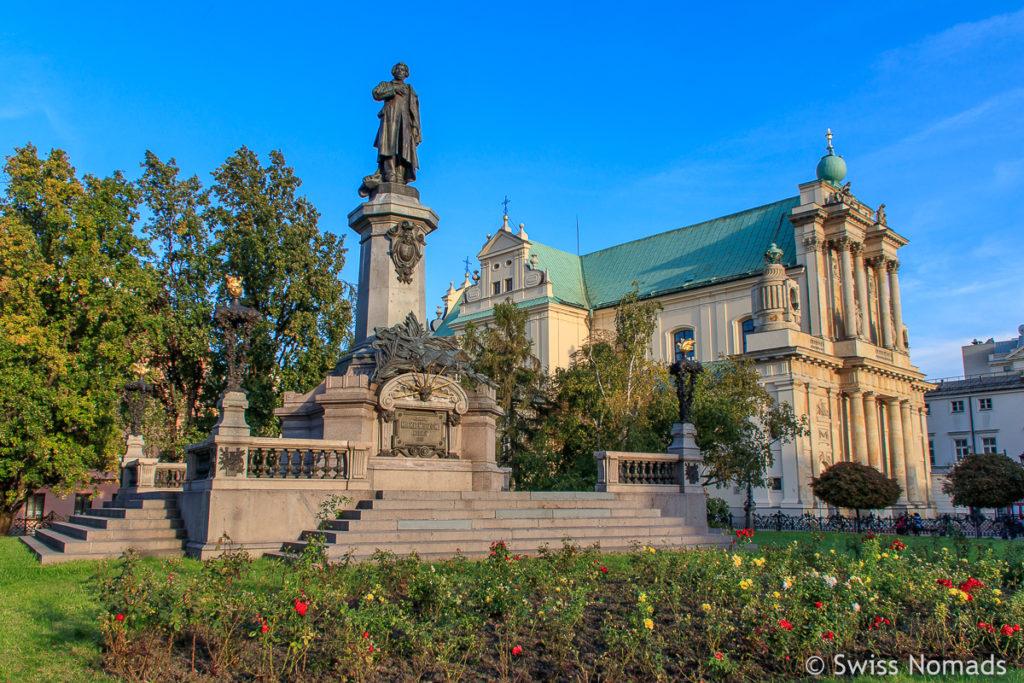 Karmeliter Kirche in Warschau