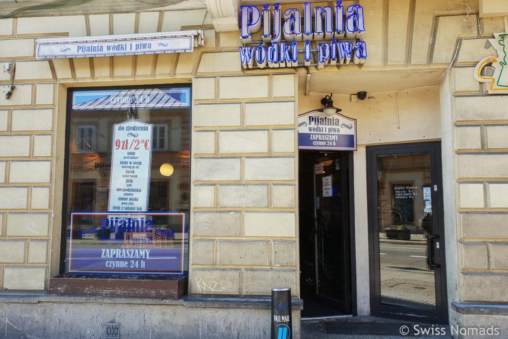 Pijalnia Wodki i Piwa Bar in Warschau