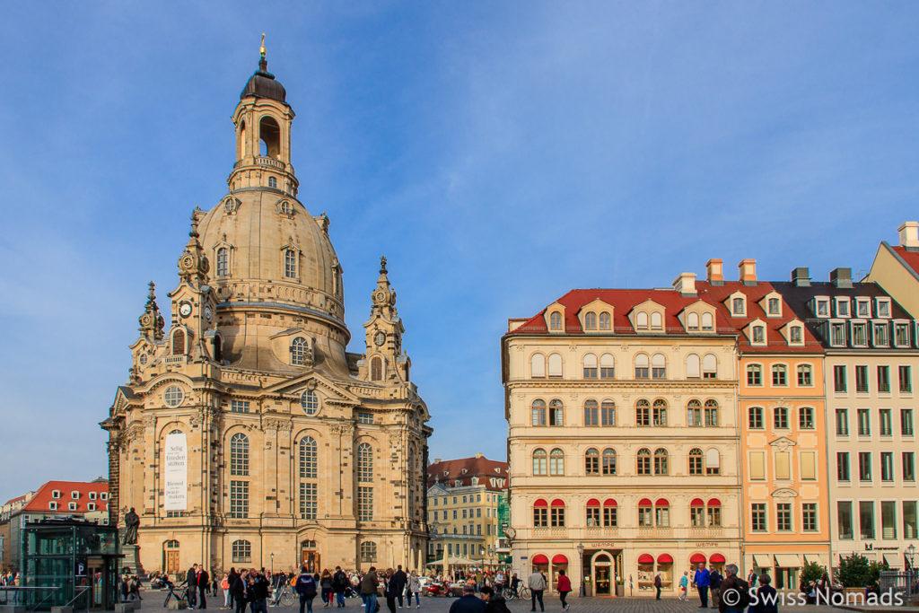 Frauenkirche in Dresden Sehenswürdigkeiten