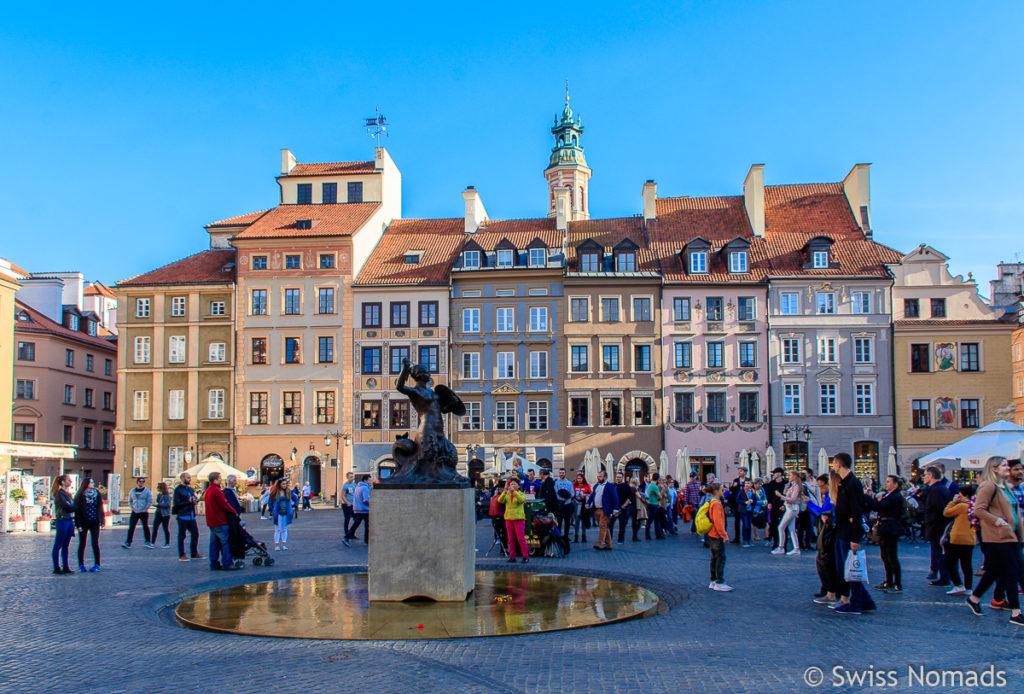 Sehenswürdigkeiten in Warschau Altmarktplatz
