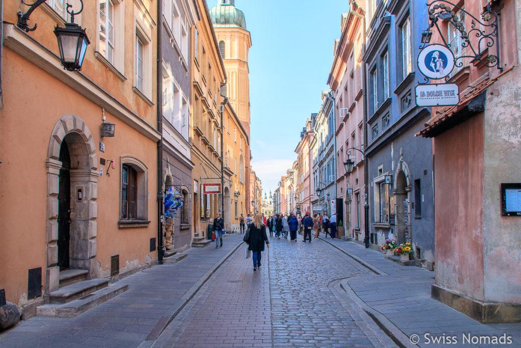 Sehenswürdigkeiten Warschauer Altstadt