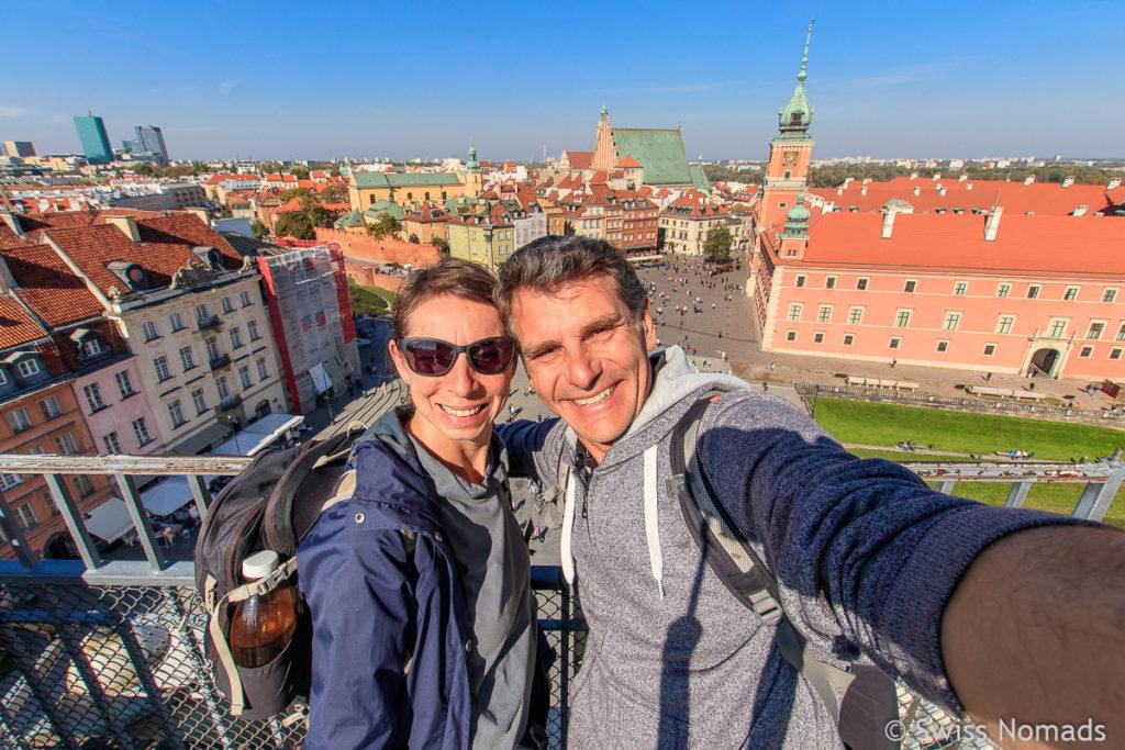 Warschau Aussichtsturm Taras Widokowy