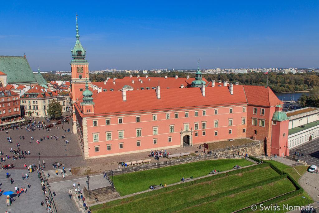 Sehenswürdigkeiten in Warschau Königsschloss