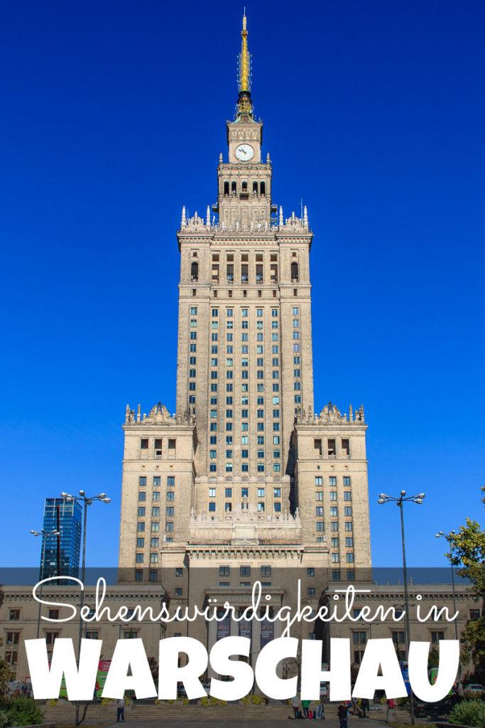 Sehenswürdigkeiten in Warschau