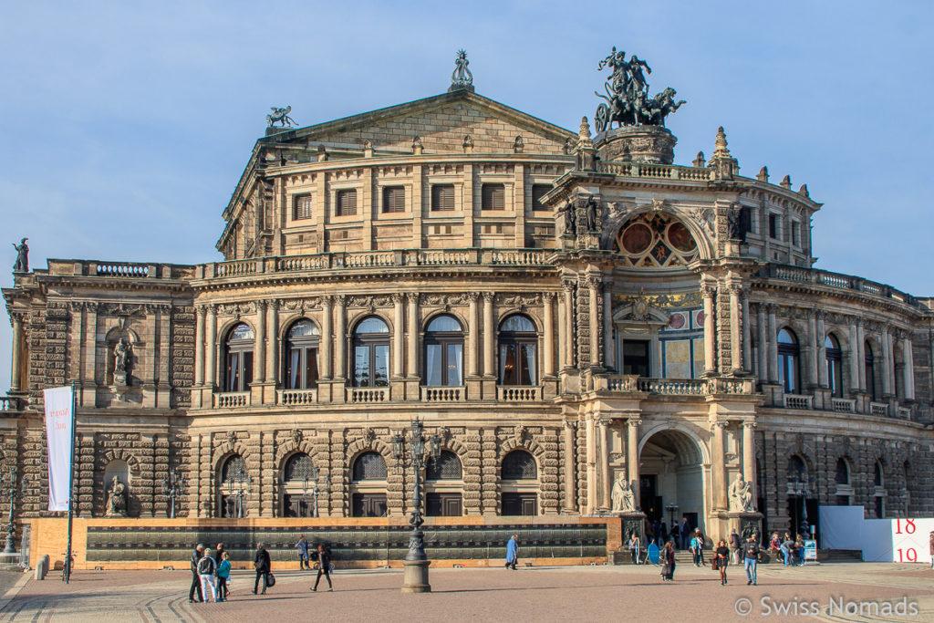 Semperoper Sehenswürdigkeiten in Dresden