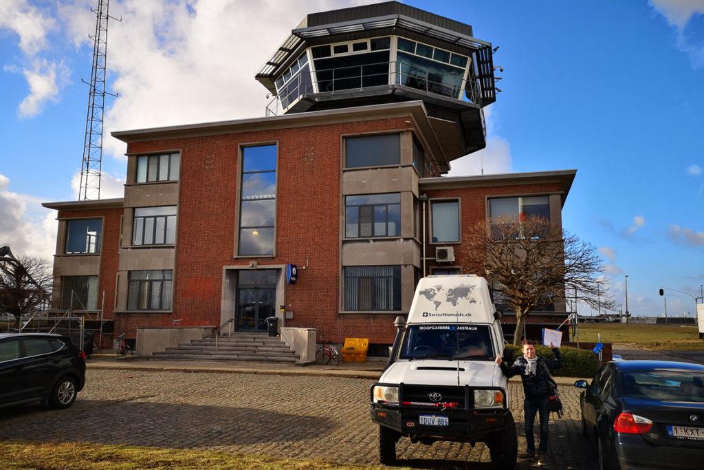 Antwerpen Hafen Polizeigebäude