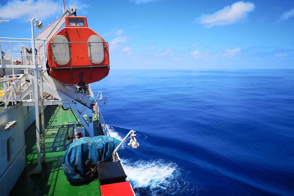 Atlantik Überquerung Frachtschiffreise