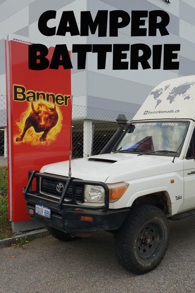 Die beste Camper Batterie für einen Offrod Camper