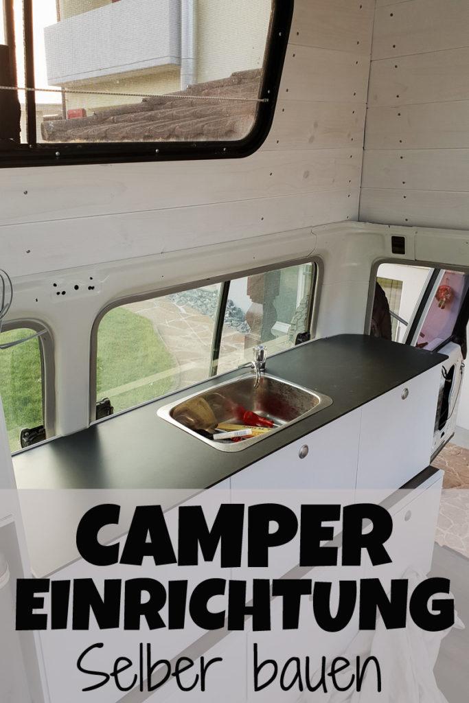 Camper Einrichtung selber bauen