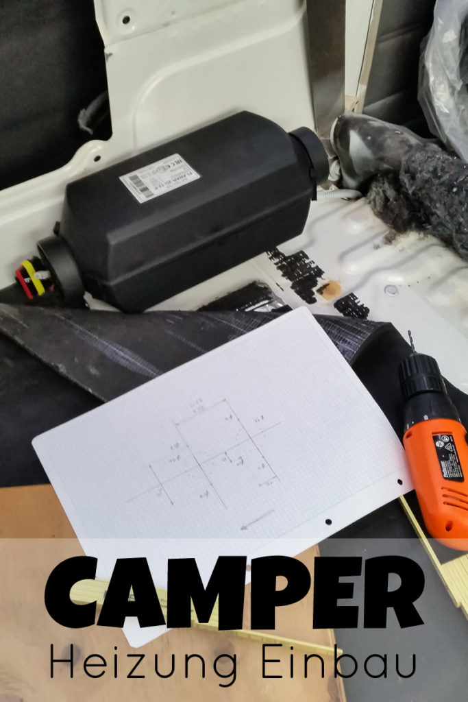 Einbau einer Diesel Standheizung im Camper