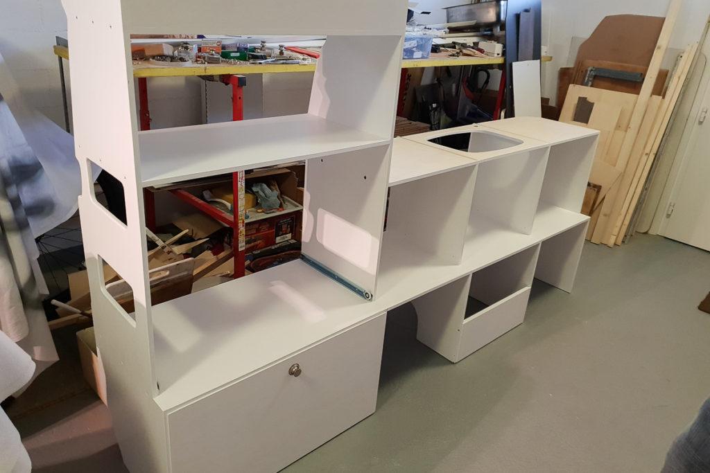 Die neuen Camper Möbel für den Innenausbau des LandCruisers
