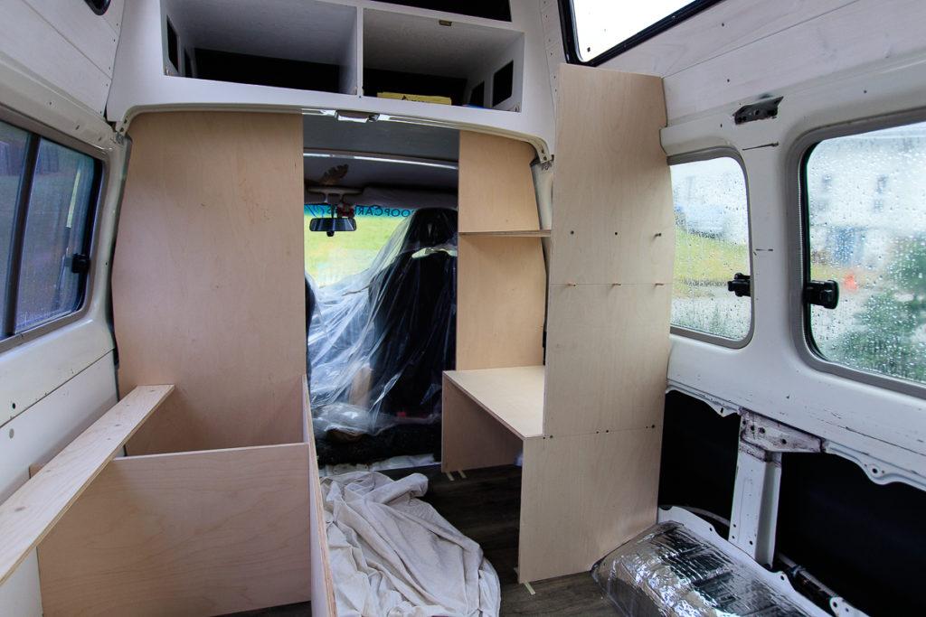 Camper Möbel bau für unseren Toyota LandCruiser