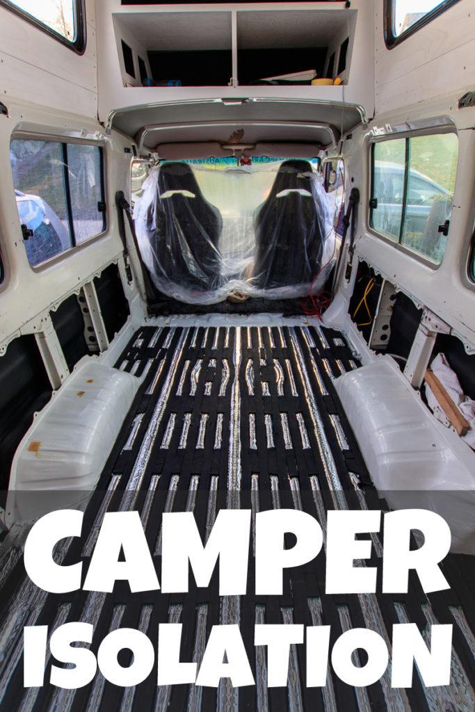Camper Isolation und Dämmung