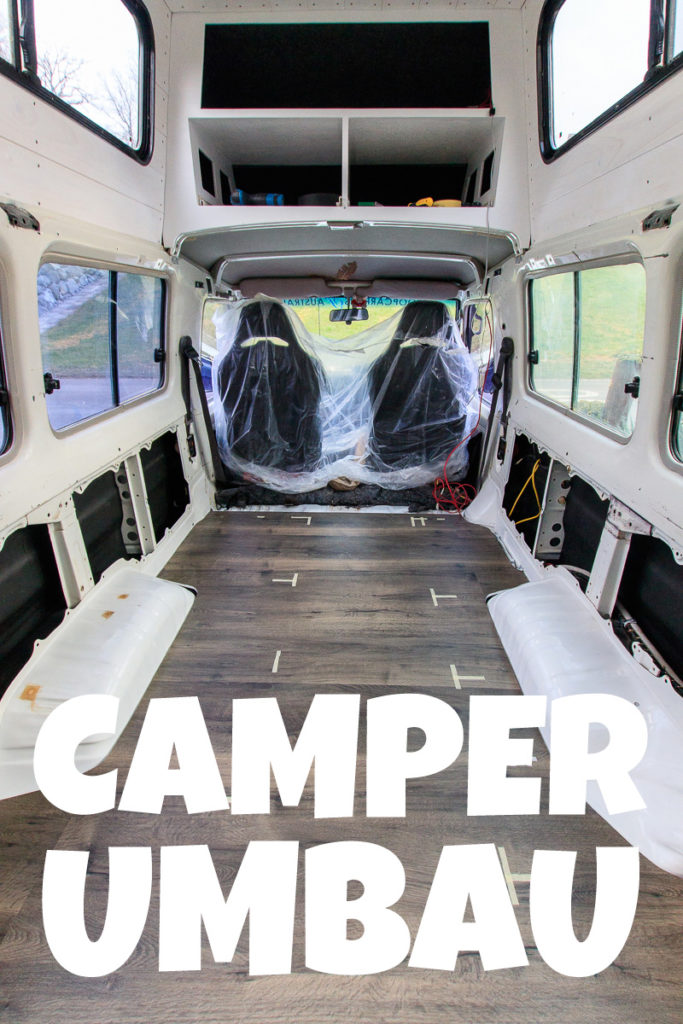 Camper Umbau selber machen - so gehts