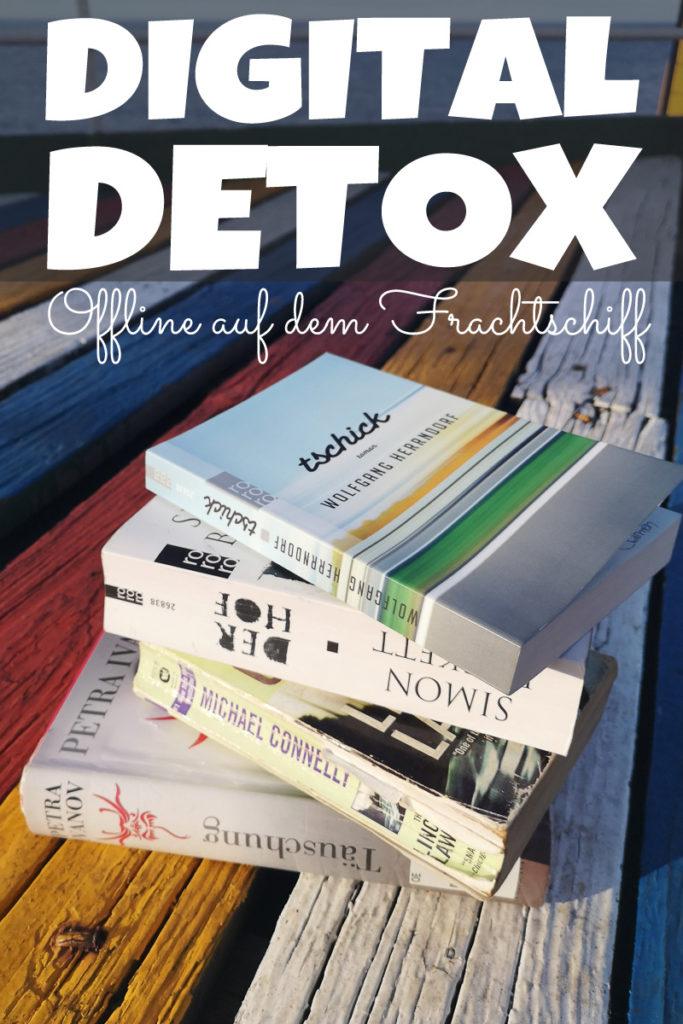 Digital Detox - Offline auf der Frachtschiffreise